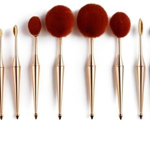 Terre Mere oval Brushes 10pcs (Value $300+)